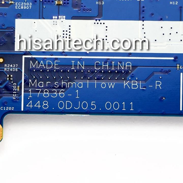 HP 7265ngw Marshmallow KBL-R 17836-1 448.0DJ05.0011 BIOS TESTED OK