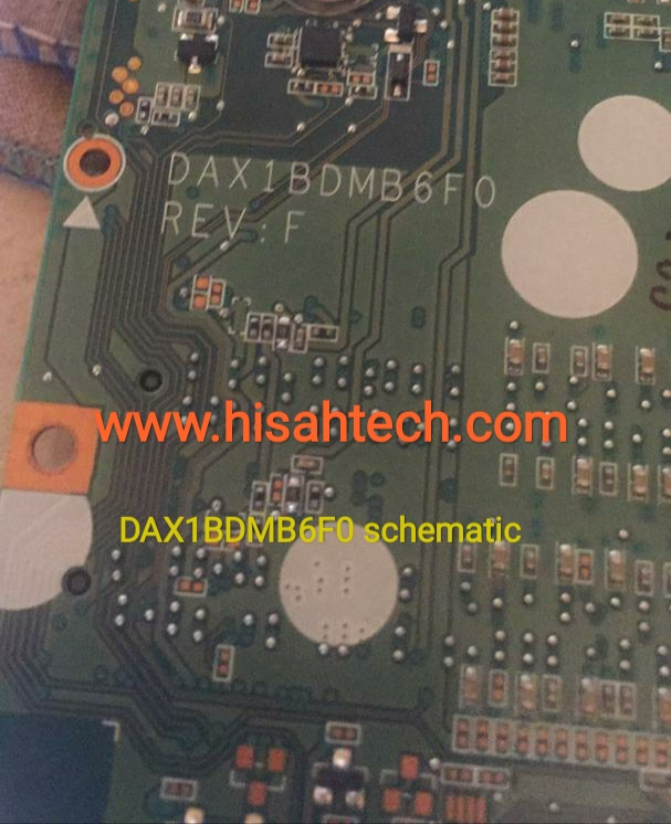 HP PAVILION 15 AB  Quanta X1BD DAX1BDMB6F0 Rev F bios