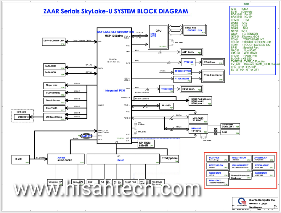 ACER ASPIRE E5-576G   DAZAARMB6E0 SCHEMATIC