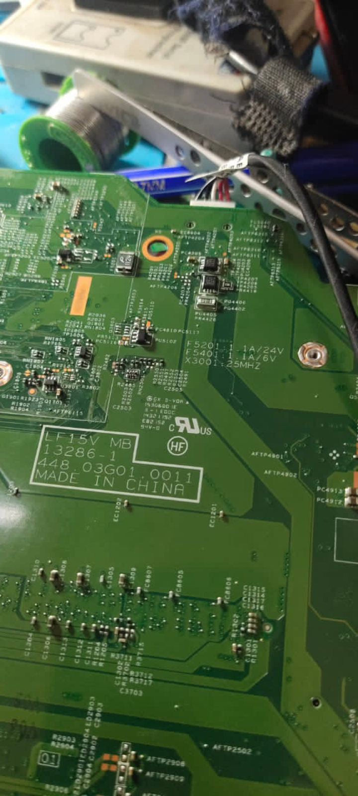 LENOVO LF15V MB 13286-1 448.03G01.0011 CLEAN ME BIOS 💯% WORKING
