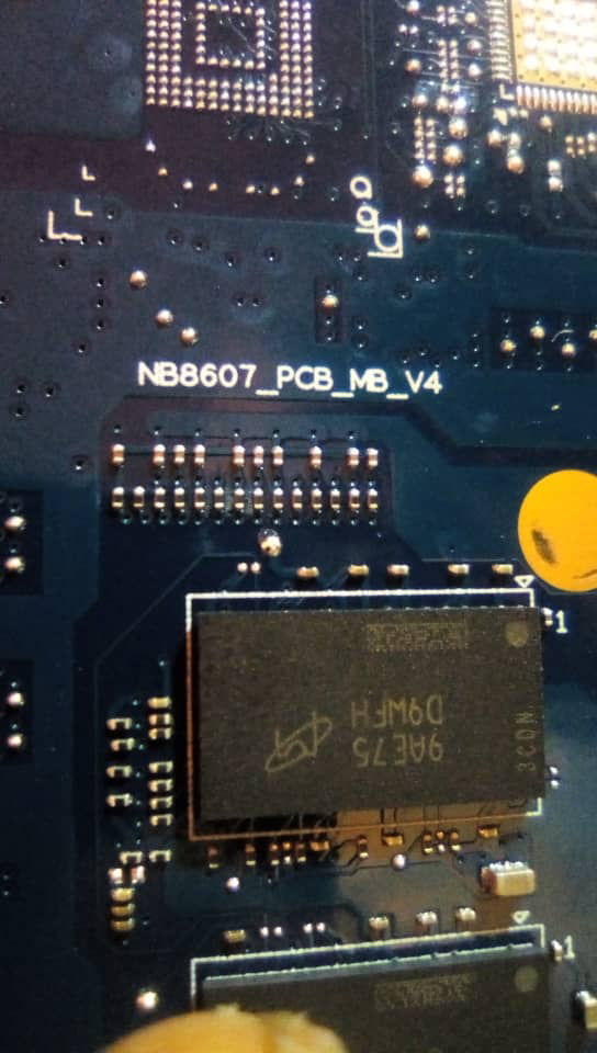 ACER ASPIRE 3 A315-22 NB8607_PCB_MB_V4 WORKING BIOS + EC + SCHEMATIC + BOARDVIEW