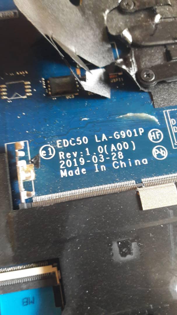 DELL LATITUDE 5500 LA-G901P 32MB 8FC8 PASSWORD UNLOCKER DUMP/BIOS + 100% WORKING/TESTED BIOS