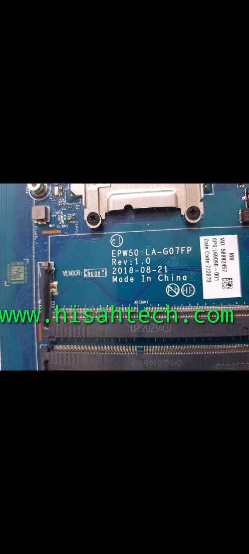 HP 15-da2180ni 10TH GENERATION LA-G07FP BID086B3 BIOS 💯% WORKING BIOS