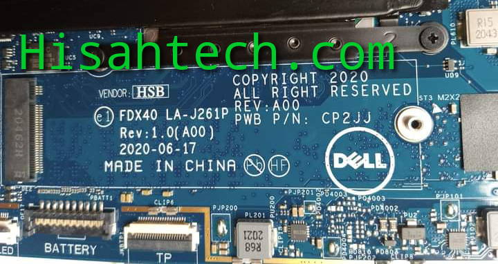 DELL LATITUDE 7410 8FC8 LA-J261P BIOS UNLOCKED PATCH 💯% WORKING