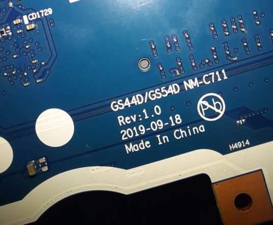 LENOVO s145-15iil GS44D/GS54D NM-C711 PASSWORD UNLOCKED