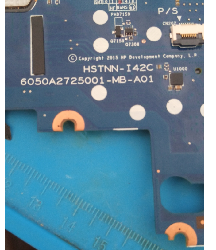 HP 820 G3 6050A2725001-MB-A01 BIOS 100% WORKING BIOS CLEAR ME