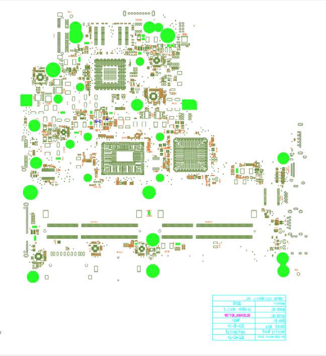 HP 250 G3 Compal ZSO40/50 LA-A998P LA-A999P Ver:0.1 BOARDVIEW